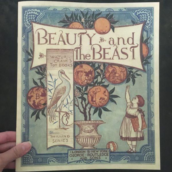 ウォルター・クレインが描いた「美女と野獣」の復刻本、販売開始。